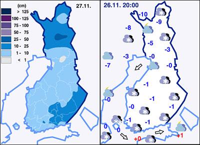 Météo Finlande