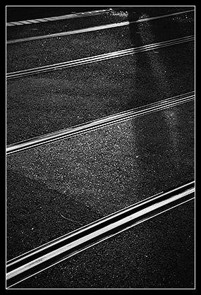 Rails du tramway