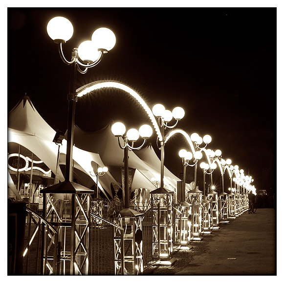 Lampadaires cirque
