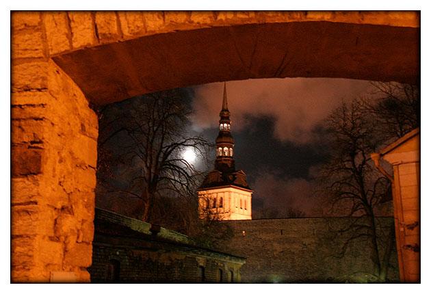 Tallinn la nuit