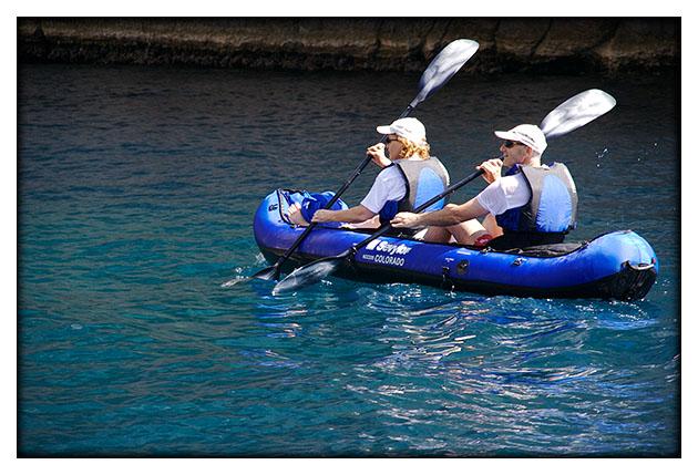 Kayack de mer