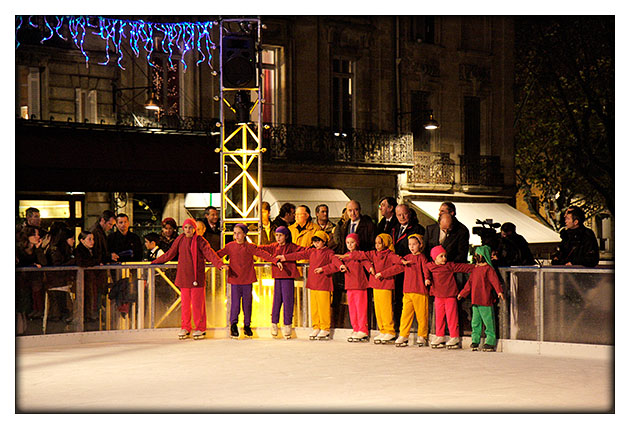 Inauguration patinoire