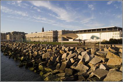 Coucher de soleil le Havre